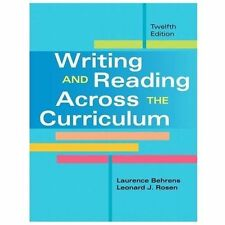 Writing and Reading Across the Curriculum by Leonard J. Rosen and Laurence...