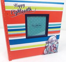 Carte Blanche- Me to You Teddy Bear 18th Birthday Photo Album Book - Photo Front