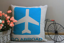 Zakka Vintage Cotton Linen Cushion Cover Home Decor Go Abroad