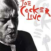 Joe Cocker - Live (Live Recording, 1990) CD