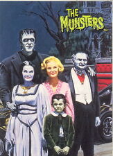 THE MUNSTERS ALL NEW SERIES 2 1997 DART PROMO CARD P1