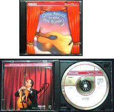 Pepe ROMERO Signed OPERA FANTASY GUITAR Verdi Giuliani CD Rigoletto La Traviata