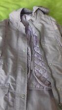 New girl 3 in 1 Raincoat /jacket, size 9 y, Vertbaudet brand, Light purple