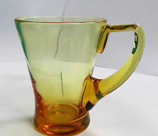 Whitefriars  Glass Tankard 1957 cat number 9036 1 pint Amber - Gold