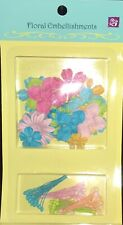 Prima Marketing Scrapbook Paper Flower Kit Birthday Mix stems included! New
