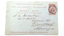 BELGIUM - Postal Stationary - 1894 - To Germany