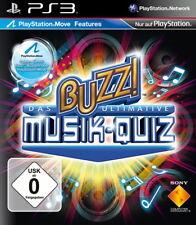 Buzz!: Das ultimative Musik-Quiz PS3 Neu & OVP