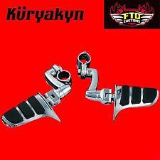 "Kuryakyn Longhorn Offset Highway Pegs for 1-1/2"" Engine Guards or Tubing 4616"