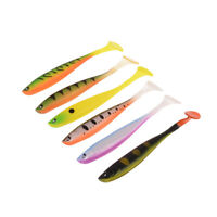 12,5cm10g Weicher Köder Japan Shad Wurm Swimbaits Jig Head Silikon Angelköder XJ