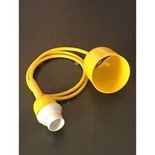Kabelpendel Lampenpendel Schnurpendel Lampenaufhängung Aufhängung gelb E14