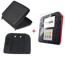 EVA Carry Case cover Pouch bag+Film Screen Guard+Silicone Case For nintendo 2DS