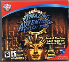 Amazing Adventures: The Lost Tomb (PC, 2008, Pop Cap) Free USA Shipping!