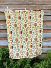 Vintage Feather bed Mattress Cover Duvet Floral Tapestry  54x43