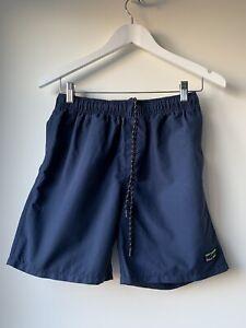 STUSSY Mens Swim Navy Shorts Size 30 LIKE NEW