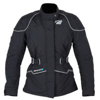 Spada Anna Breathable Waterproof Ladies Textile Motorcycle Jacket Black - Sale