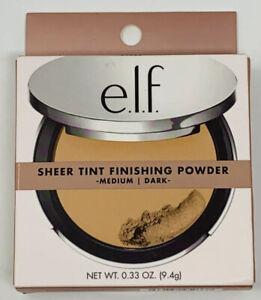 ELF BEAUTIFULLY BARE SHEER TINT FINISHING POWDER #95033 MEDIUM DARK NEW