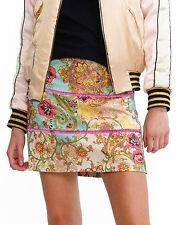 Cynthia Rowley print mini skirt