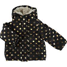 STEVE MADDEN kids Baby Girl Black & Gold  Coat
