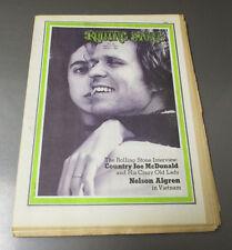 1971 ROLLING STONE Magazine #83 VG/FN 5.0 Country Joe McDonald Vietnam