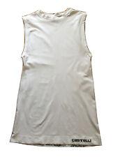 Castelli Core Seamless Cycling Base-layer White With Grey Logo Size 2XL