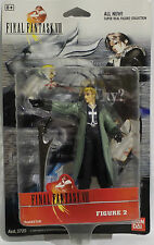 FINAL FANTASY VIII : FIGURE 2 CARDED ACTION FIGURE BY BAN DAI IN 1999.    (MLFP)