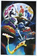 Power Rangers Teenage Mutant Ninja Turtles # 5 FOC Variant NM