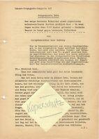 """WW 2 Kriegsbericht Hans Huffzky """"Todgespickte Erde"""" Kampf nördl. Orel August 42"""