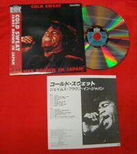 JAMES BROWN Cold Sweat Live In Japan 1986 Japanese Laserdisc w/obi 80 min