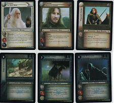 Lord of the Rings CCG Black Rider Foil: Masterwork 2x Rare  Cards freie Auswahl