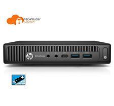 HP EliteDesk 800 G2 Desktop Mini i7-6700T Quad-Core 8GB RAM 1TB HDD Win 10 (b)