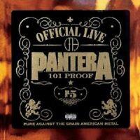 "PANTERA ""GREAT OFFICIAL LIVE-101PROOF"" 2 VINYL LP NEW!"