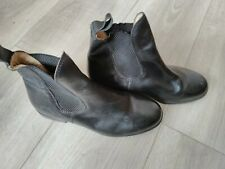 Harry Hall Clifton Jodhpur Boot BLACK SIZE 5 SIZE 38  NEW WHIT DEFECTS