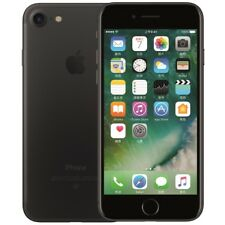 Apple iphone 7  128 Go GSM Téléphones mobiles Désimlocké Noir Neuf en vente