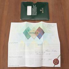 Rolex Oyster Perpetual Datejust 16200 Paperwork Guarantee Genuine F Serial