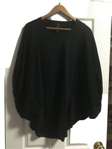 Alistair Trung Black Boxy Top Size 2