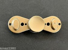 Ringlet Butterfly Zinc Alloy Fidget Hand Spinner Black Gold Coated