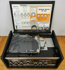 ROLAND RE-150 SPACE ECHO Analog Tape Delay from Japan w/Adapter & Extras!