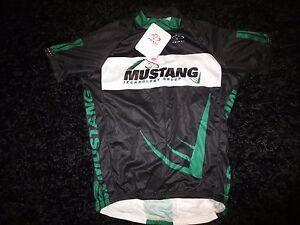 Mustang Technology Group Cycling Biking Primal Jersey M Medium mens NEW