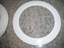 """6"""" Inch Recessed Light (Halo) Plastic Trim Ring White"""