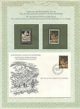 FIRST DAY OF ISSUE / 1° JOUR / STAMP / TIMBRE ARGENT NAISSANCE DE ANKER / SUISSE
