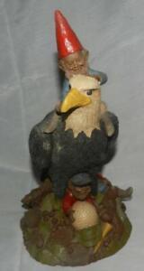 "1985 ""Par"" Tom Clark Gnomes 12"" Figure American Eagle Golf Ball 3 Gnomes Retired"