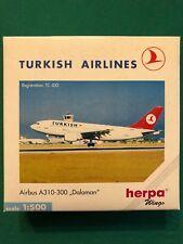 "Airbus A310-300 ""Dalaman"" TC-JDD Turkish Airlines. Herpa Wings 1:500 n.501064"