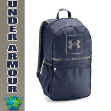 Under Armour 1328058-410 Project 5 Backpack School Bag Midnight Navy/Taupe
