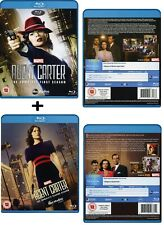 MARVEL'S AGENT CARTER 1+2 2015-2016: Hayley Atwell TV Season Series NEW BLU-RAY