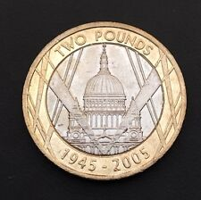 £2 Coin VE Day Anniversary St Pauls Cathedral 2005 FREEPOST