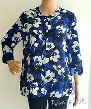 a422ef390ce0c6 Women s Size PM Printed Floral Long Sleeves Top 100% Polyester by Liz  Claiborne