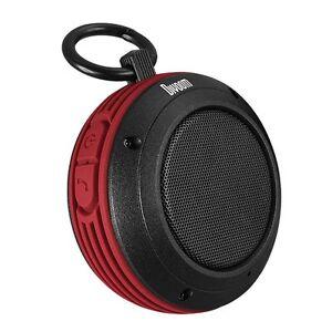 Divoom Voombox Travel Rugged Portable Wireless Bluetooth 4.0 Speaker - Red
