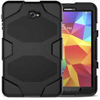 Outdoor Cover für Samsung Galaxy Tab A T580 T585 Silikon Hybrid Case Hülle Etui