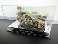✺Signed✺ CRAIG LOWNDES Final Race ZB Holden Commodore COA V8 Supercars 1:18