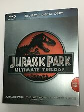Jurassic Park Ultimate Trilogy 1-3 (Blu-ray movie)